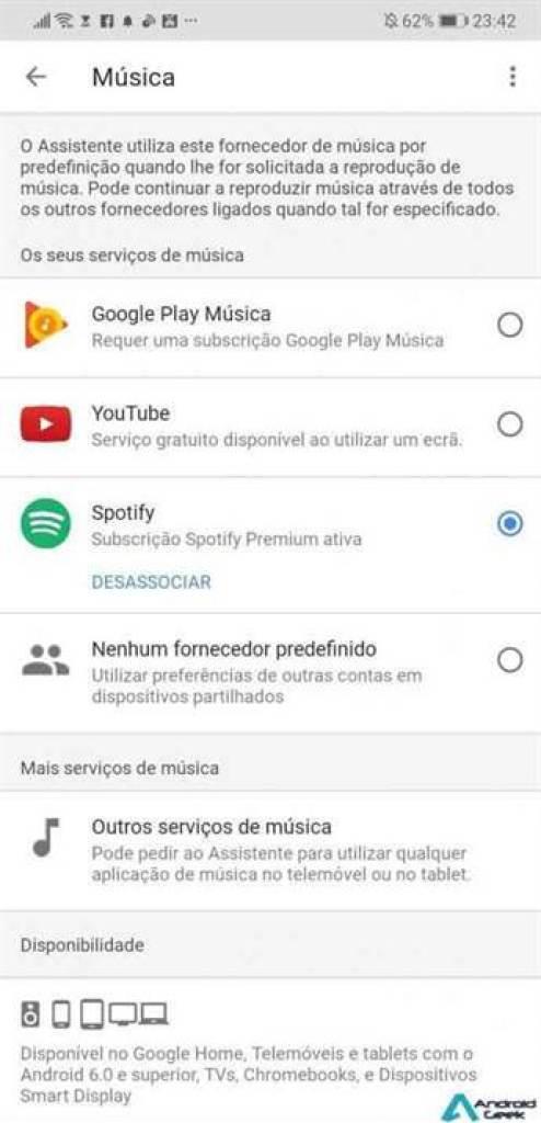 Como usar o Spotify no Google Home 4