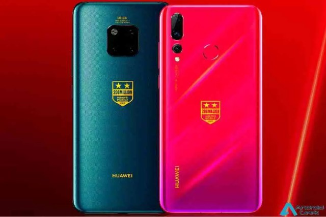 Huawei lança edições especiais Mate 20 e Nova 4 para celebrar o 200 milhões de smartphones em 2018 1