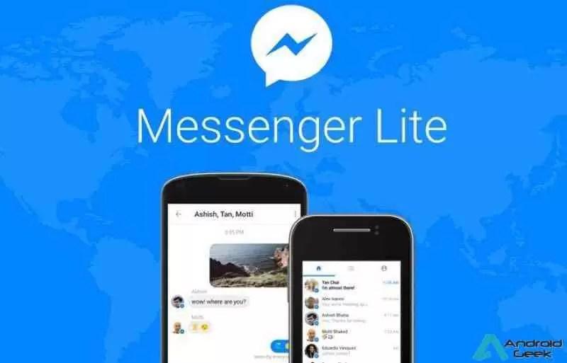 Atualização Messenger Lite traz GIFs animados, partilha, personalização e mais 1