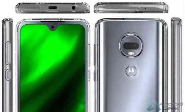 Novo render revela o Moto G7 de todos os ângulos 1