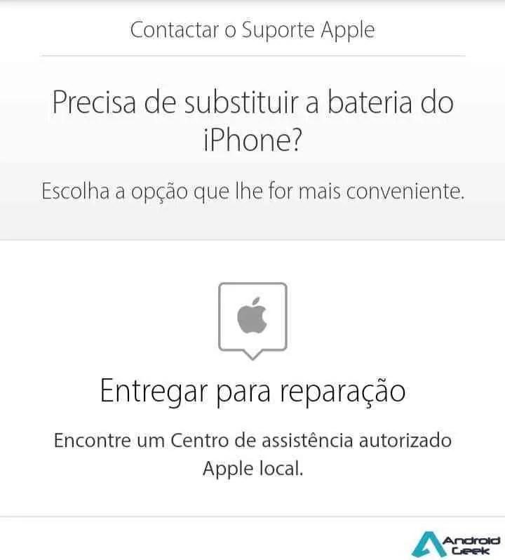 Se precisam trocar a bateria do iPhone, façam-no antes de 31 de dezembro 1
