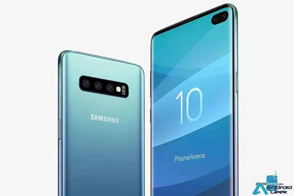Samsung regista possível novo recurso de câmara Galaxy S10 1