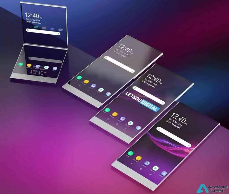 O smartphone dobrável da Sony pode ser.. transparente 1