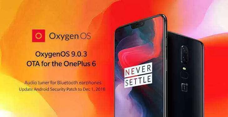 OnePlus 6 recebe melhorias no equalizador e câmara, o OnePlus 5 / 5T também foi atualizado 1