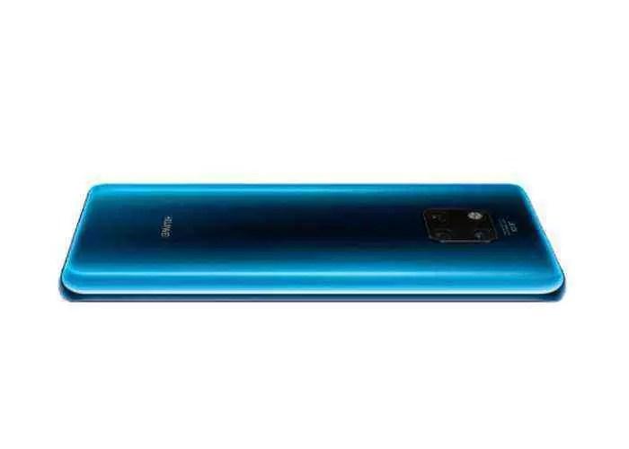 Huawei Mate 20 Pro, cometa azul