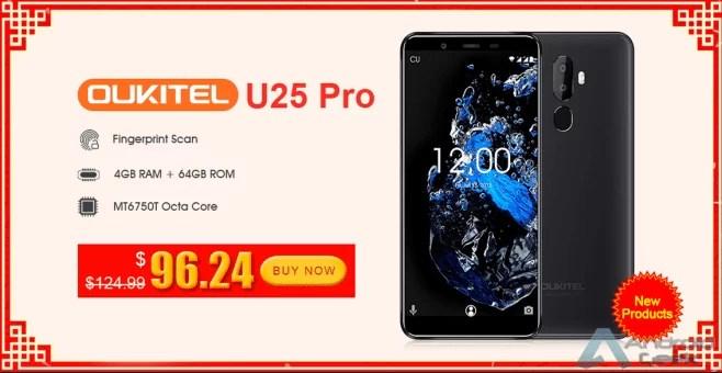 OUKITEL U25 Pro Twilight por apenas 83,86€ - Octa-core com 4 GB / 64 GB de memória 2