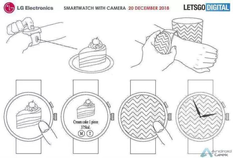 O próximo smartwatch da LG pode incluir uma câmara modular 3