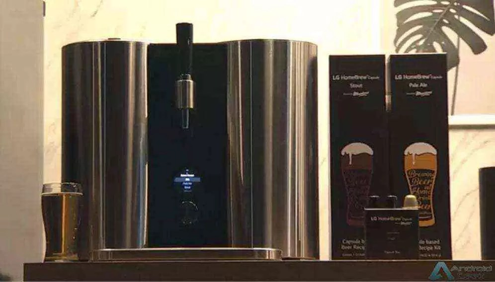 LG tem uma máquina inteligente para fazer cerveja em casa 1