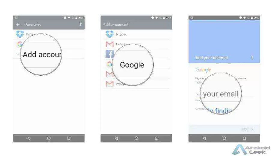 Como adicionar uma segunda conta Google no nosso Android 2