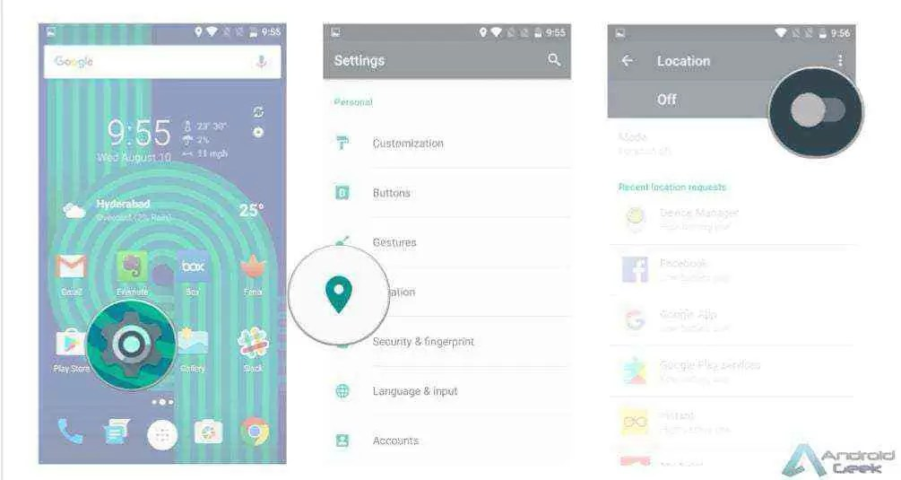 Como configurar e usar a aplicação Find My Device 1