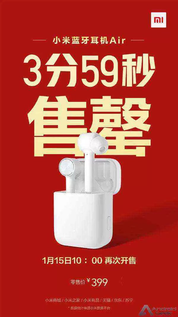 Xiaomi Mi AirDots Pro esgotou em quatro minutos 4