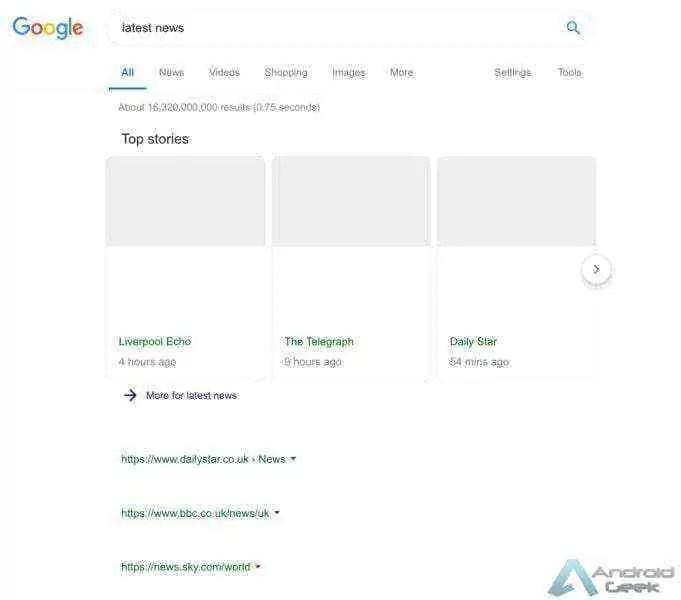 Isto é o que o Artigo 11 pode fazer ao Google na Europa 1