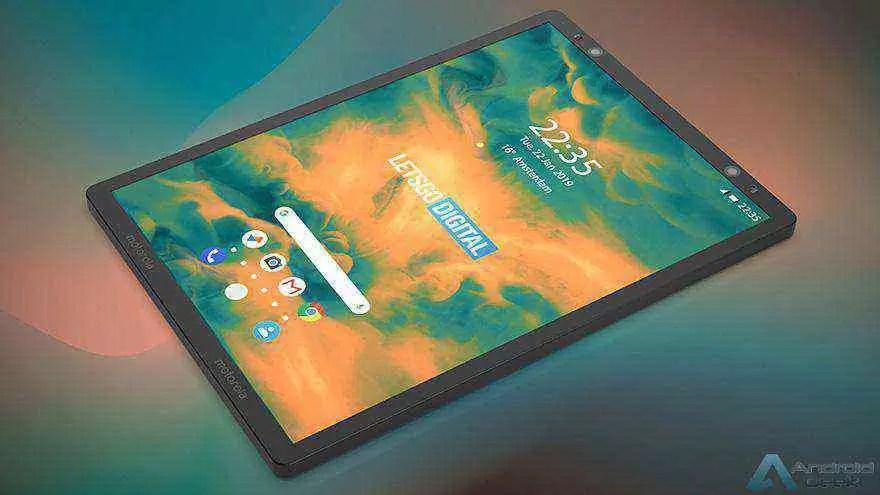 Smartphone dobrável da Motorola aparece em patente 2