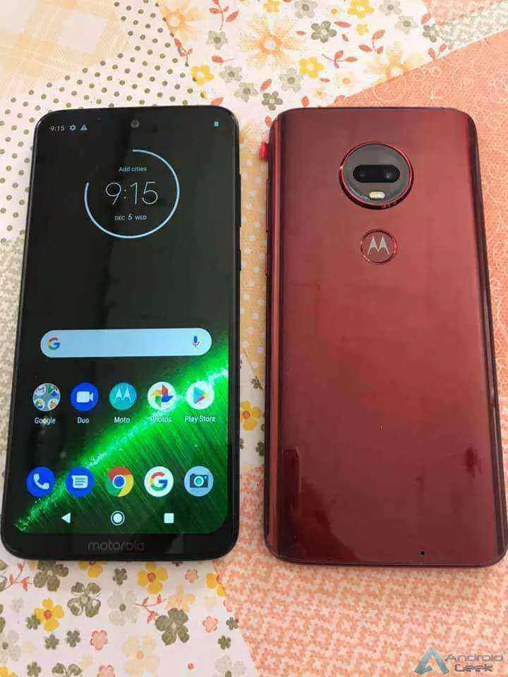Motorola Brasil revela todos os Moto G7 por engano 2