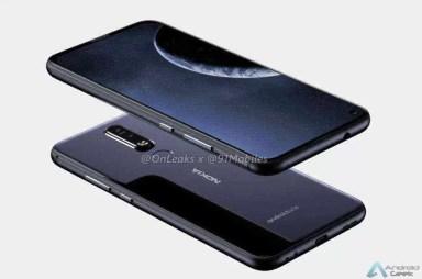 Nokia 8.1 Plus Renders