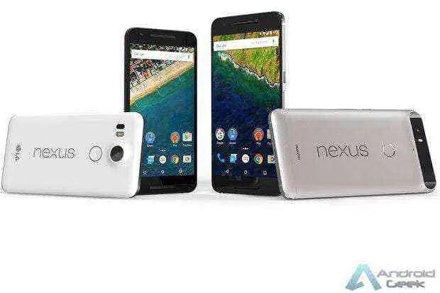 RIP, Nexus 6P e Nexus 5X descansem em paz 1