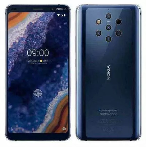 Imagem da câmara do Nokia 9 publicada no Instagram 1