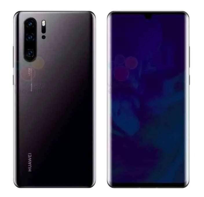 O Huawei P30 e P30 Pro aparecem em imagens oficiais 2