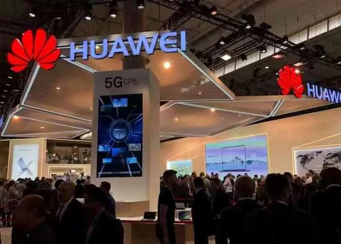 Huawei no Mobile World Congress