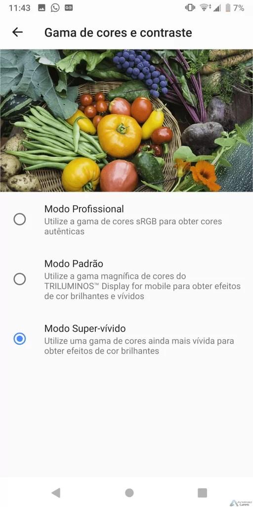 Análise Sony Xperia XZ3 forte em Multimédia 2
