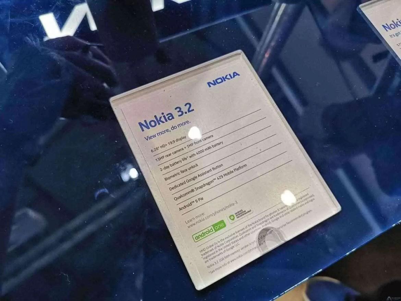 Nokia 3.2 Hands On no MWC 2019 2