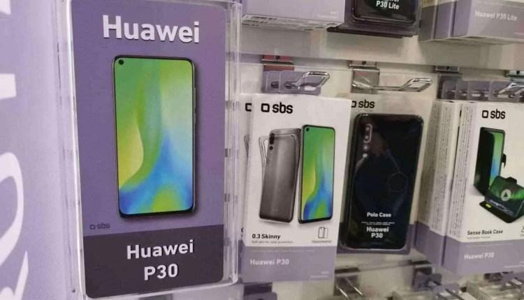CEO da Huawei visto com o Huawei P30 Pro 9