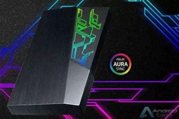 ASUS anuncia disco rígido externo FX HDD 1