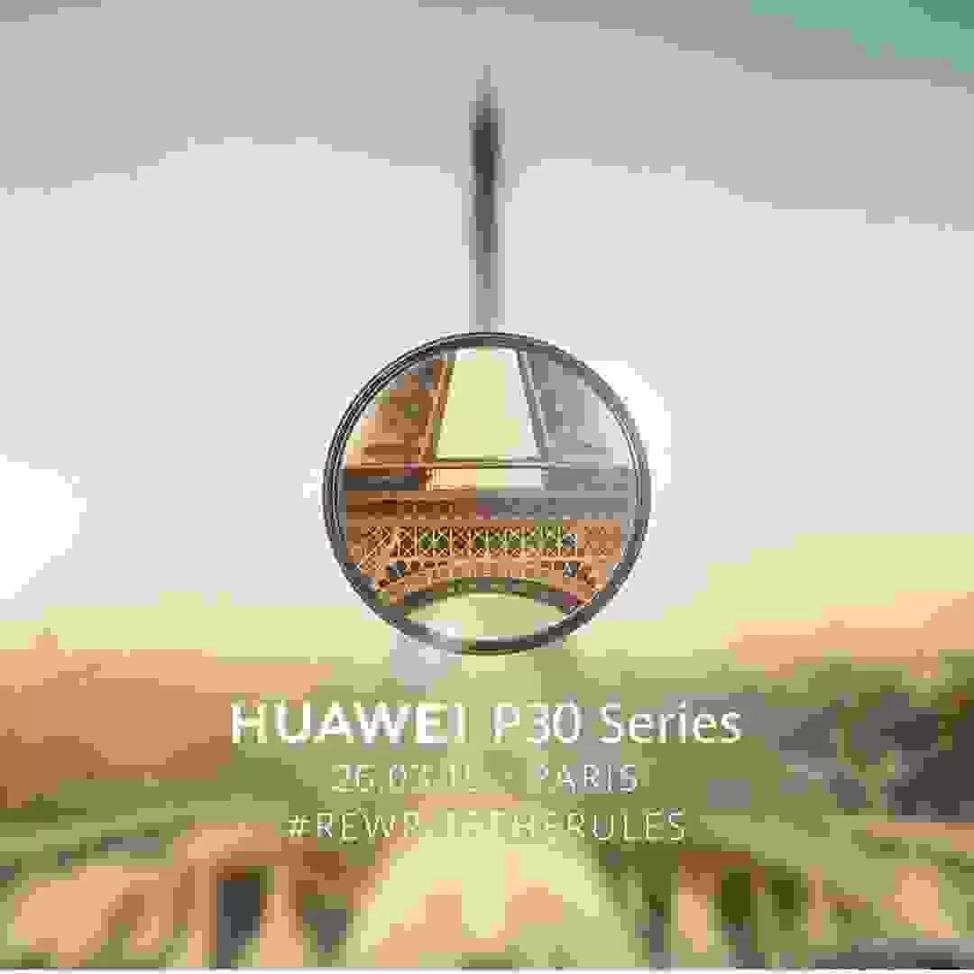 Huawei revela a data de apresentação do P30 e P30 Pro 1