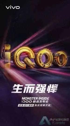 iQOO da VIVO chega oficialmente a 1 de março 1