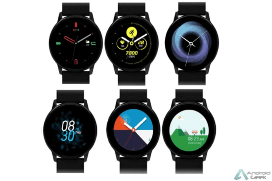Mais detalhes em nova fuga de informação do novo smartwatch da Samsung 1