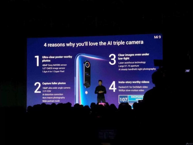Xiaomi apresenta oficialmente o Xiaomi Mi 9 no MWC 2019 7