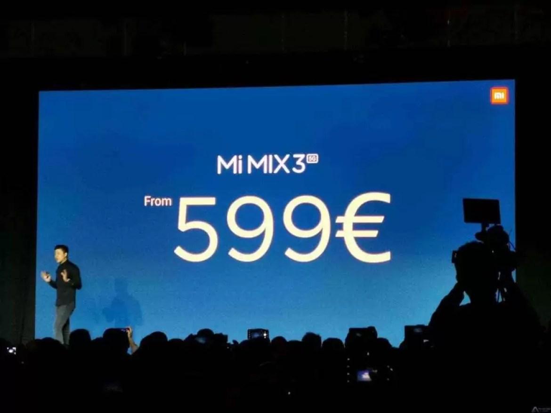 Xiaomi encanta no MWC com um Mi Mix 3 5G a um preço incrivel 8