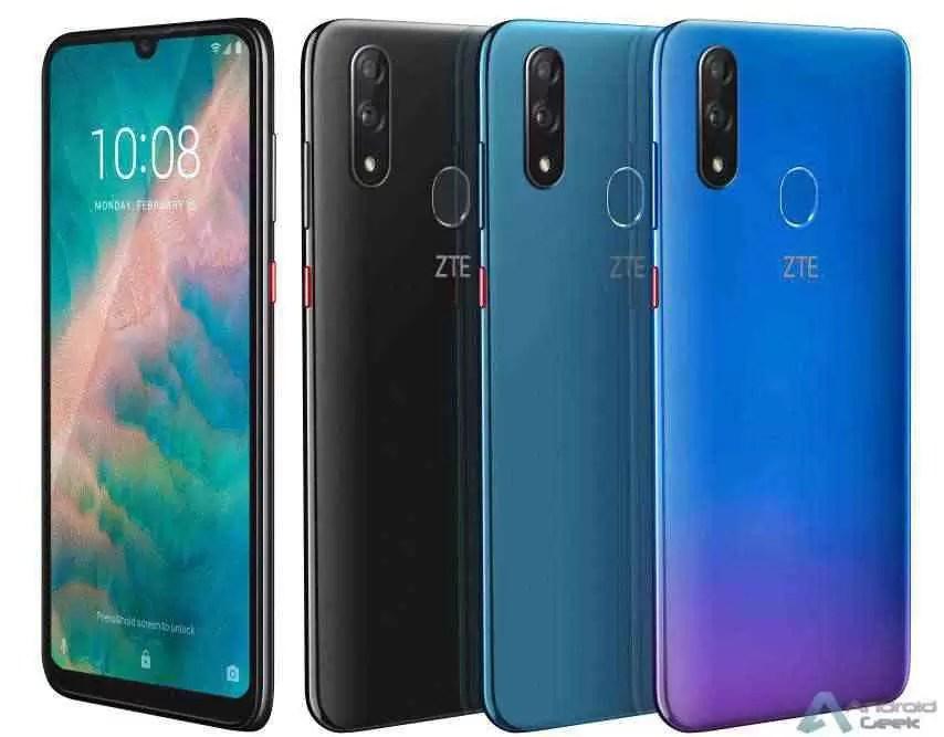 ZTE Blade V10 com câmara selfie 32MP, Android 9 Pie anunciado no MWC 2019 1