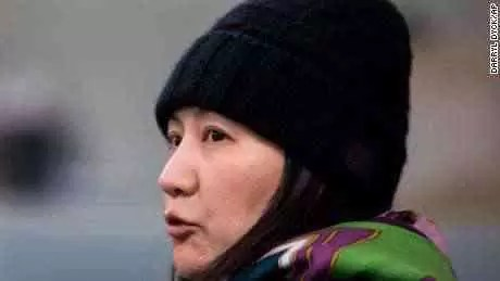 O CFO da Huawei, Meng Wanzhou, processa o processo a acusar o Canadá de detê-la ilegalmente