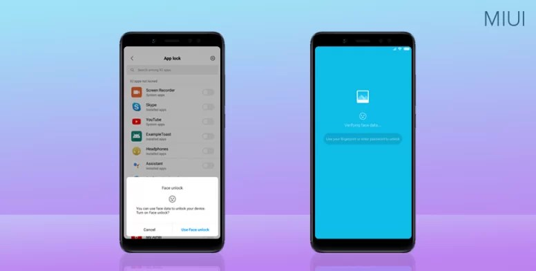 MIUI-10-face-unlock-for-apps