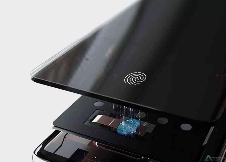 Samsung Galaxy S10, leitor de impressões digitais no ecrã