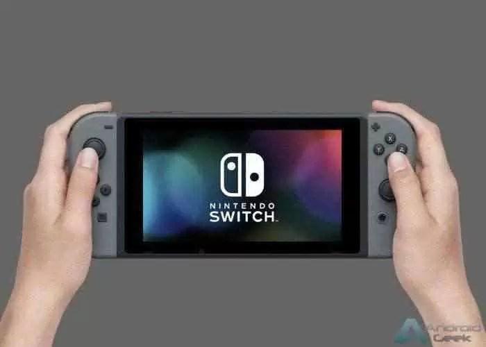 Um dos primeiros dispositivos com o Android Q é um Nintendo Switch