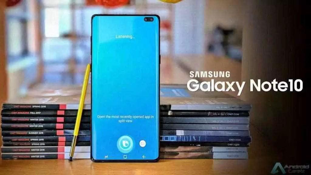 Samsung Galaxy Note 10 Pro vê relação de aspecto do ecrã confirmada 1