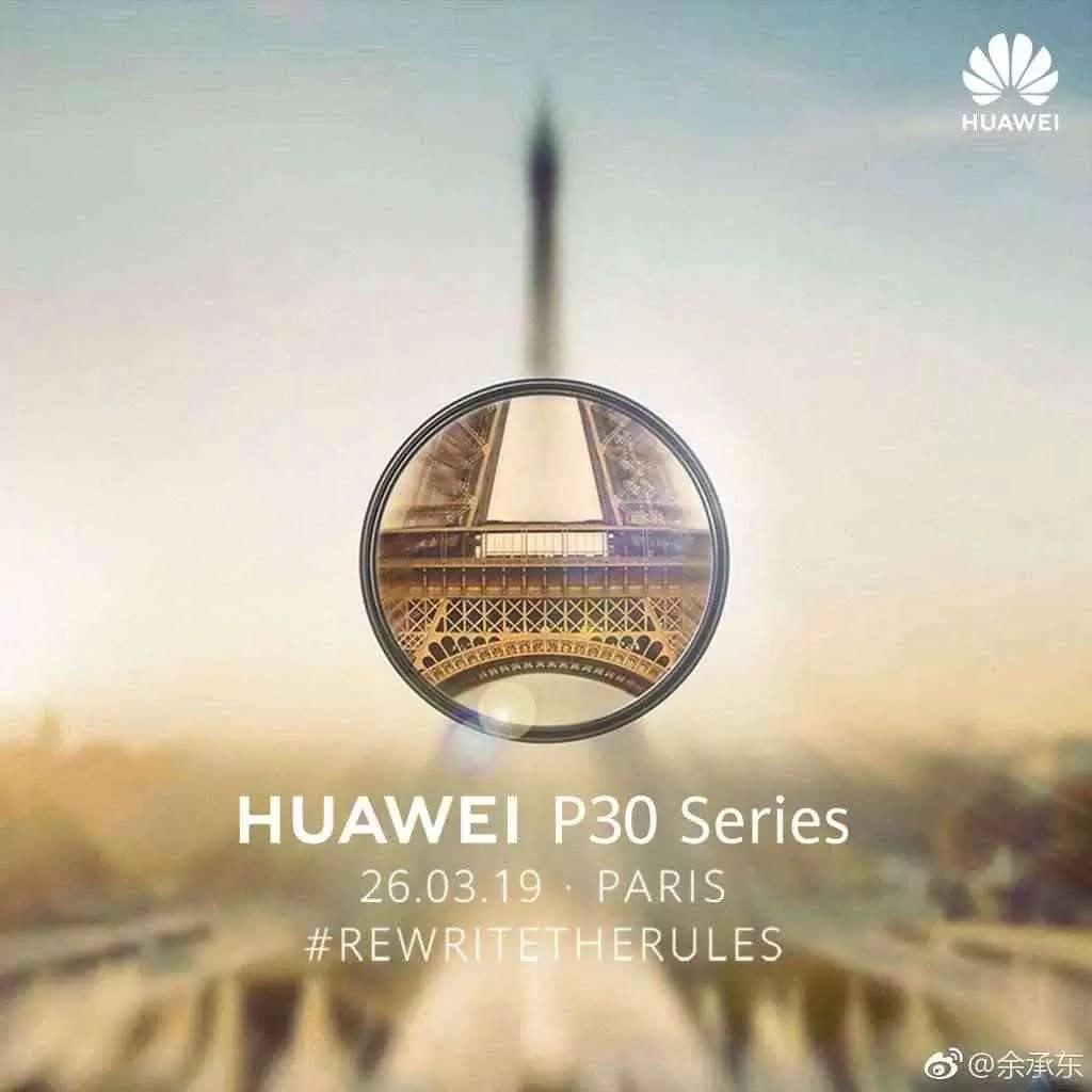 Série Huawei P30 vai alegadamente reescrever as regras da fotografia 3