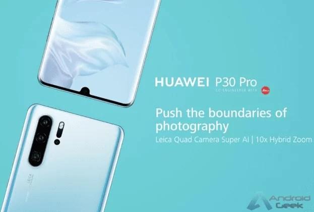 Huawei Holanda comete erro e revela o P30 e P30 Pro em uma série de imagens oficiais 4