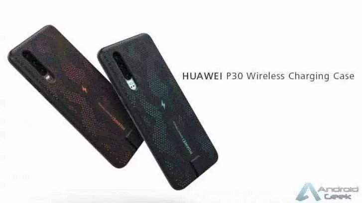 Huawei P30 terá carregamento sem fio através de uma capa especial de 10W com certificação Qi 1