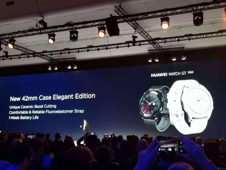 Já conhecem as edições Active e Elegant do Huawei Watch GT? 2