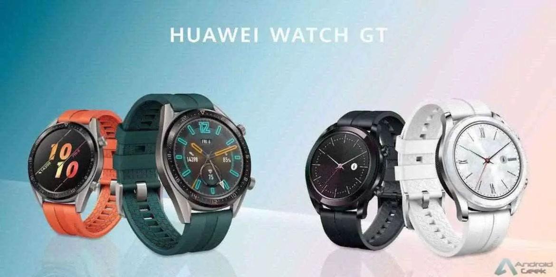 Já conhecem as edições Active e Elegant do Huawei Watch GT? 1