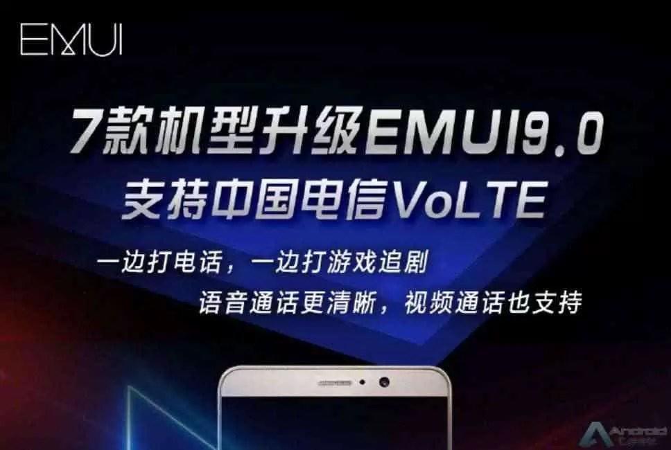 Oito modelos Huawei recebem atualização EMUI 9.0 1