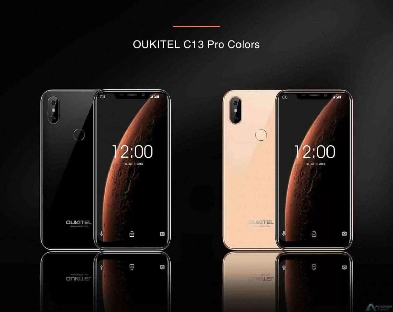 OUKITEL C13 Pro entra em pré-venda por US $ 74,99 com Notch Display e Android Pie 3