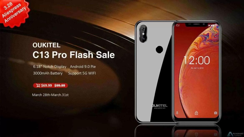 OUKITEL surpreende com grandes ofertas para o 7º aniversário da Aliexpress, smartphones desde US $ 57,99 3
