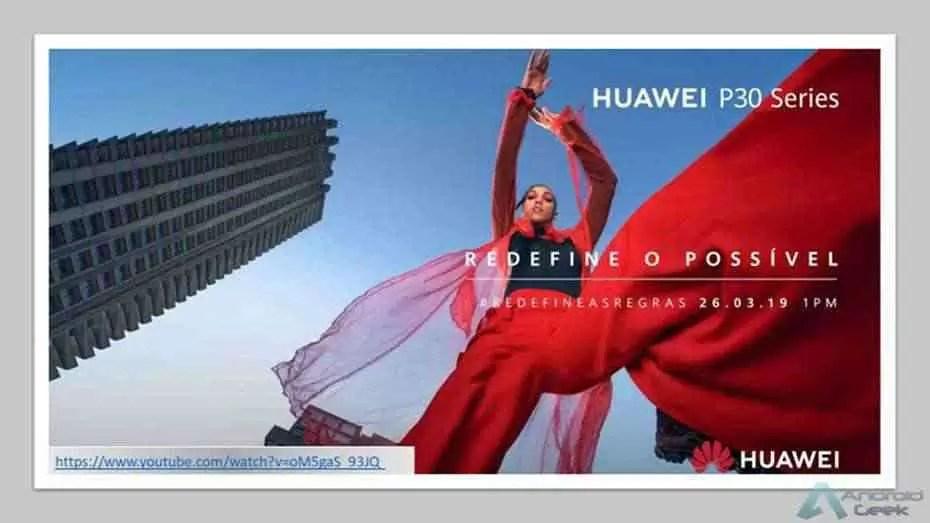 Vejam aqui o lançamento do Huawei P30 em directo! 1
