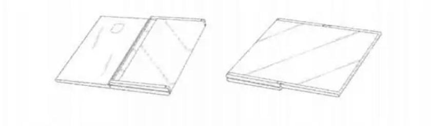 Patente da Samsung para telemóvel dobrável