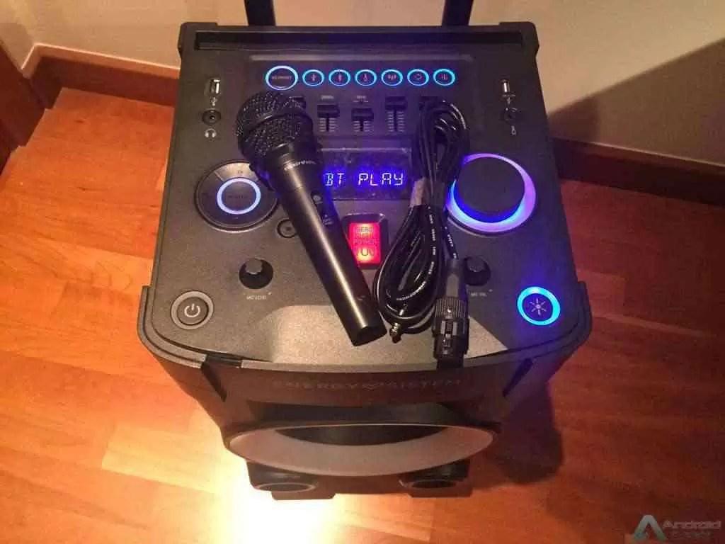 Análise Energy Sistem Party 3 é uma discoteca portátil 1
