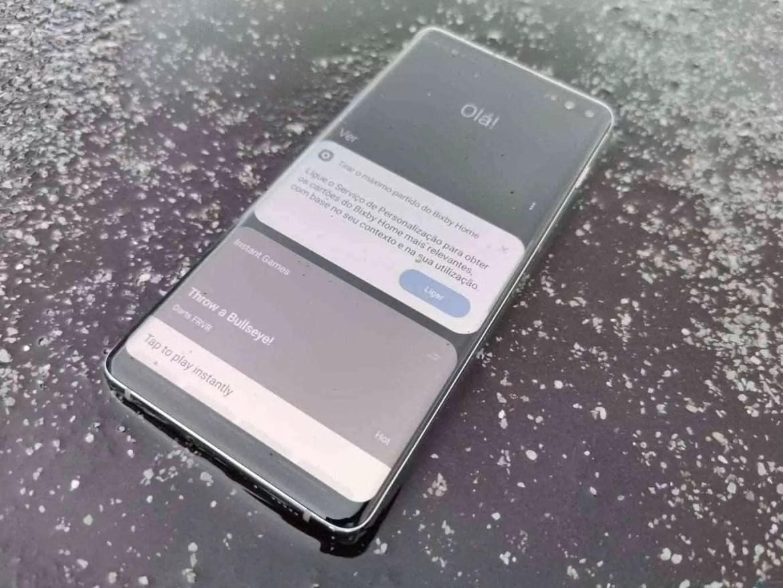 Opção de login com impressão digital do Samsung Galaxy S10 desativada em algumas aplicações bancárias 2